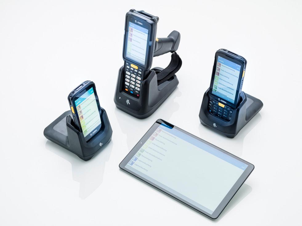 databix Scanner und mobile Station